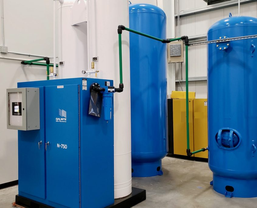 Nitrogen Membrane Trailer Systems