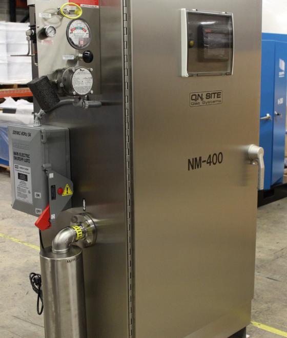 membrane nitrogen generator system