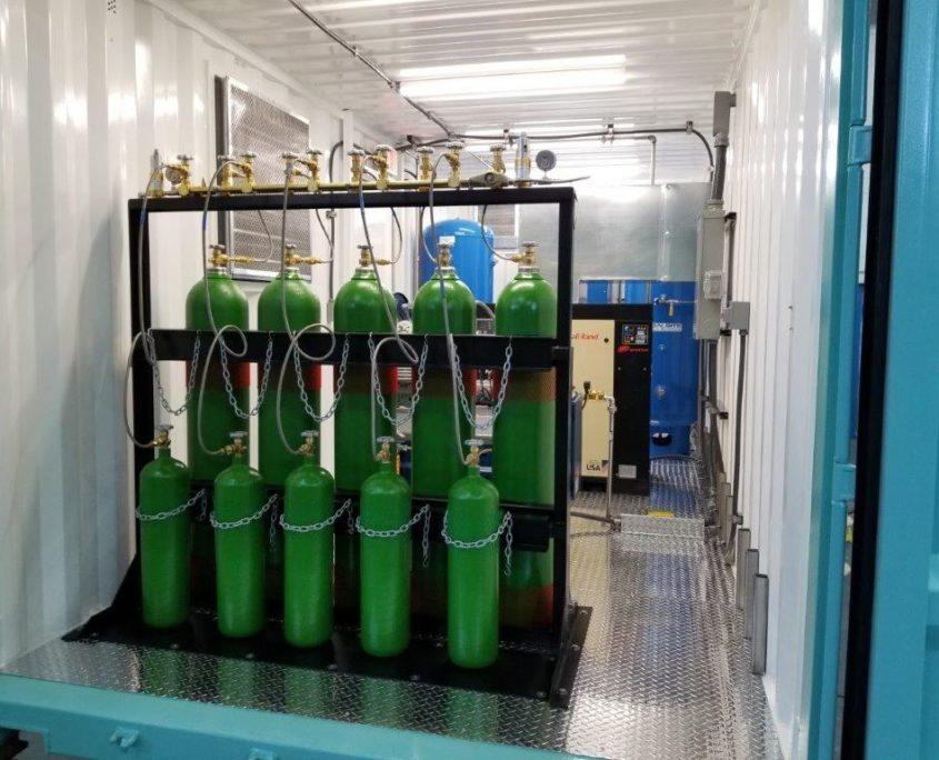 Nitrogen Cylinder Filling