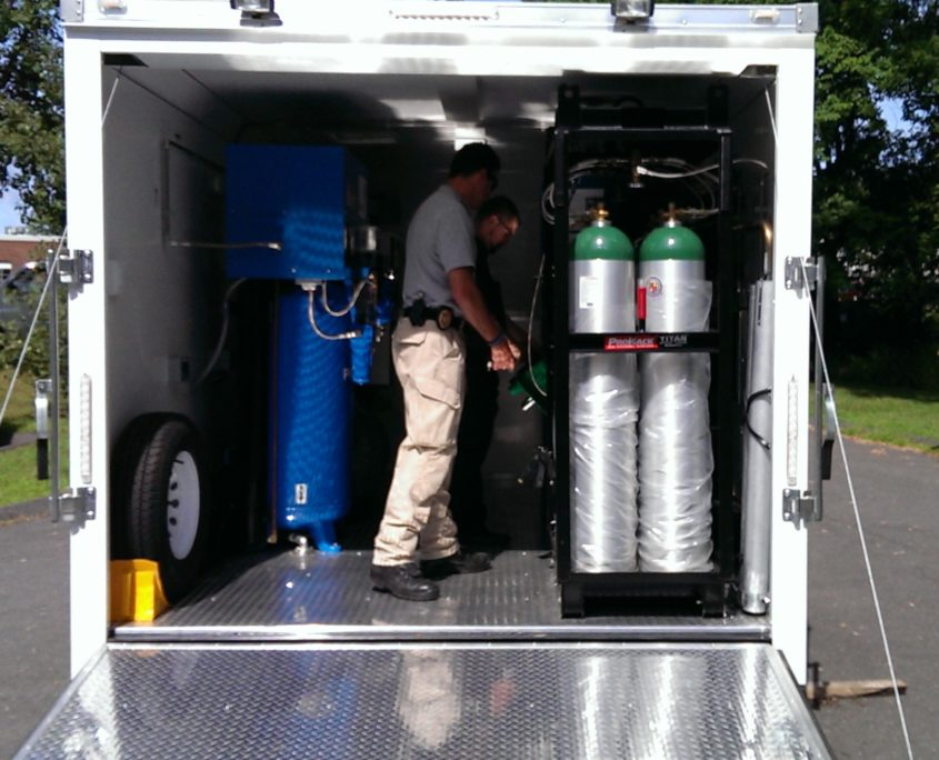 Oxygen Container Systems