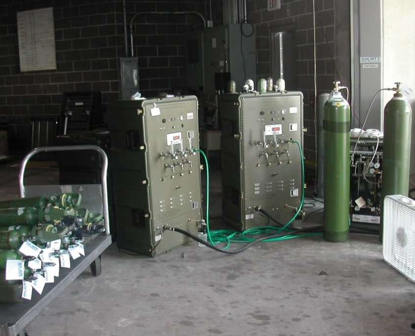 Portable Oxygen Generation Systems (POGS)
