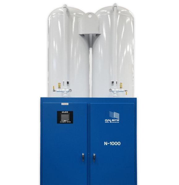 PSA Nitrogen Generator Systems